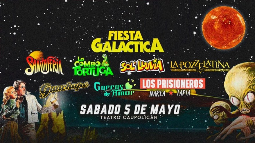 Fiesta Galáctica portada