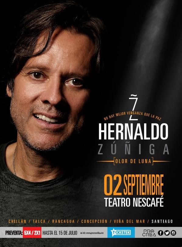 Afiche Hernaldo Zuñiga